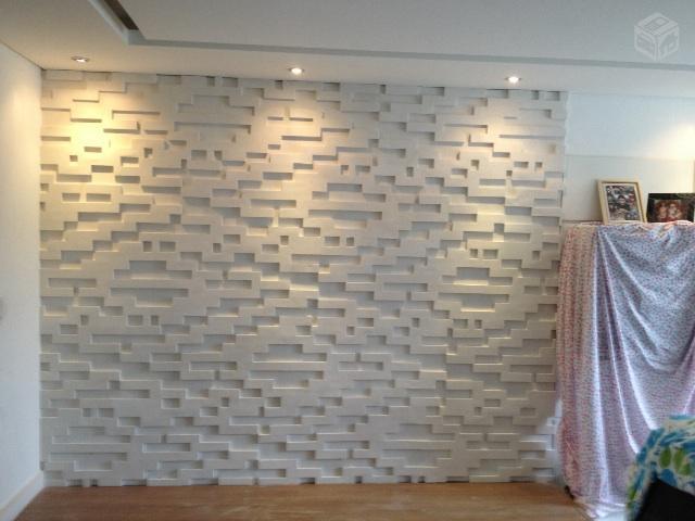 Godoy gesso parede de gesso 3d for Placas pvc para paredes