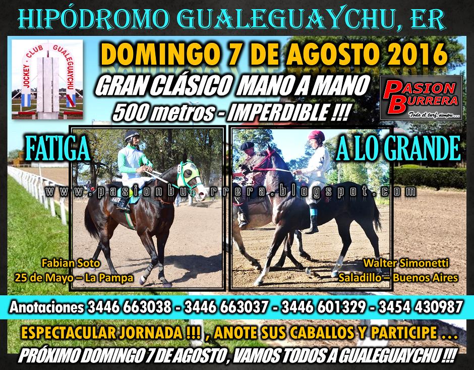 GUALEGUAYCHU - 7 DE AGOSTO - 500
