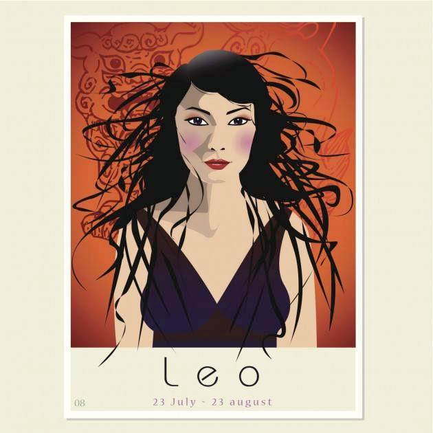 Imagenes Zodiacales Horoscopo 2014 - Signo Leo
