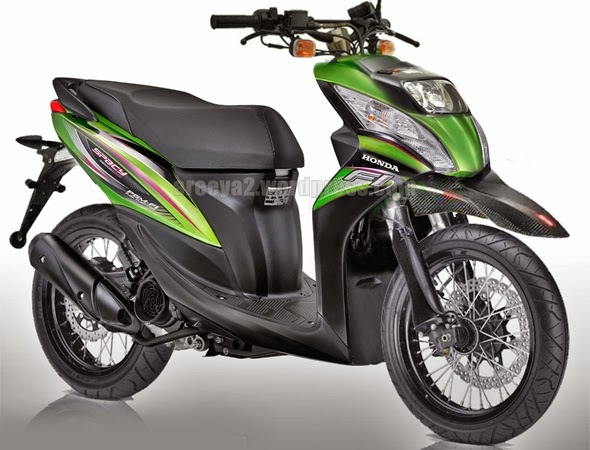 Honda Spacy Hitam Honda Spacy Putih