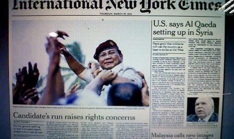 Prabowo Subianto Dituntut Dugaan Penculikan Aktivis Pro Demokrasi