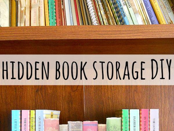DIY Hidden Storage