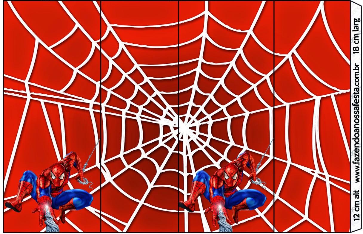Spiderman etiquetas para candy bar para imprimir gratis for Fondos de spiderman