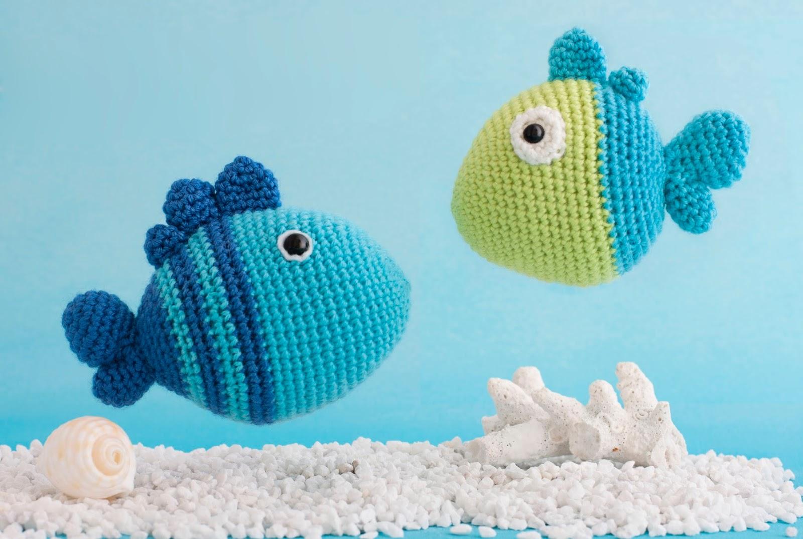 Amigurumi Fish Bone Free Pattern : Mis PequiCosas: Peces