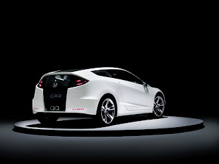 Honda Cr Z Concept 2012 Back View HD Wallpaper
