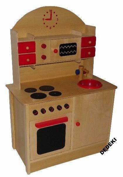 Matka Polka w kaszę dmucha  Matka Pasjonatka Przegląd kuchni drewnianych dl   -> Allegro Kuchnie Drewniane Dla Dzieci