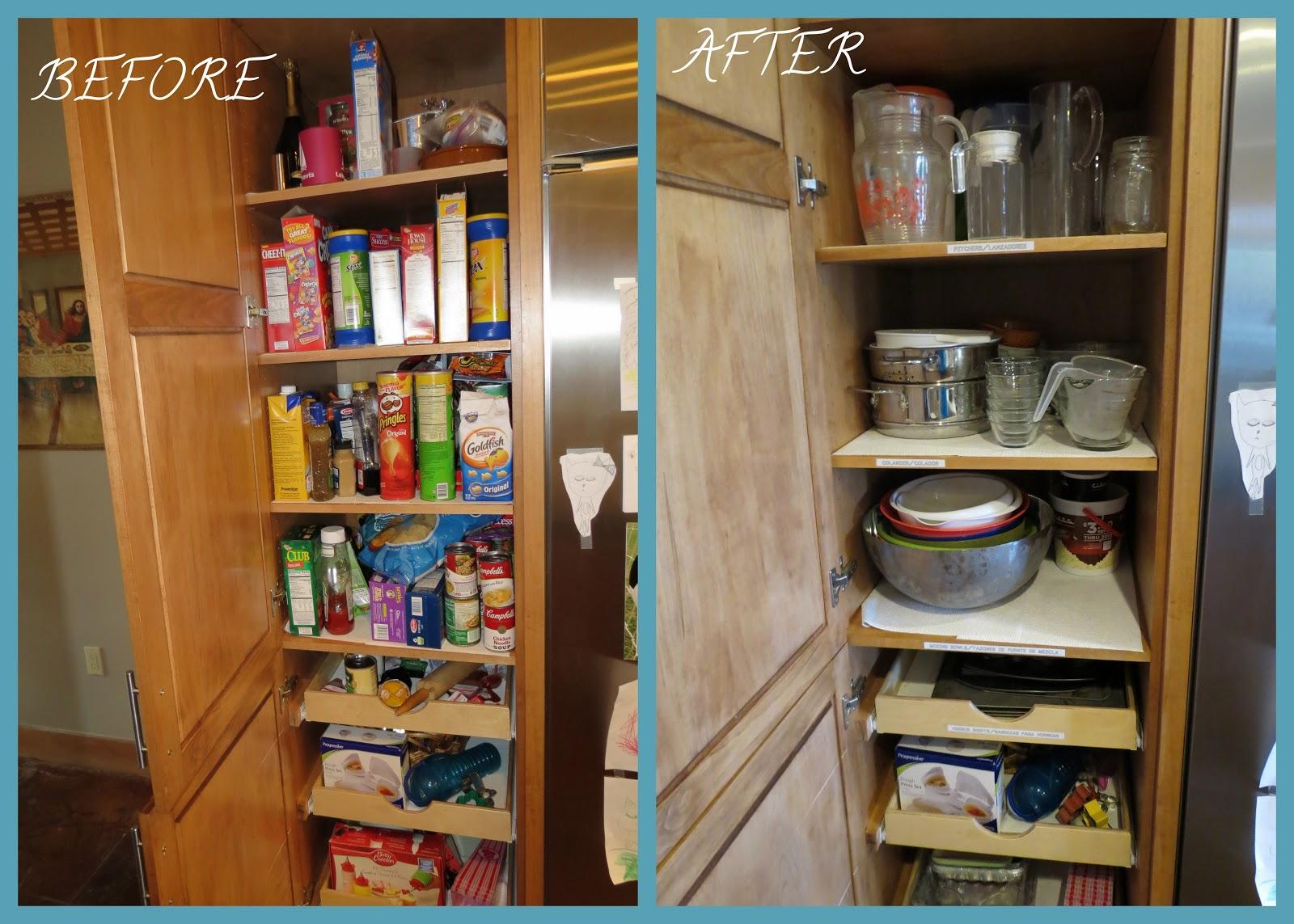 Organized Style By Kari Kitchen Pantry
