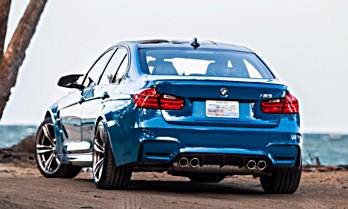 2016 BMW F80 M3 The return of the Laguna Seca Blue
