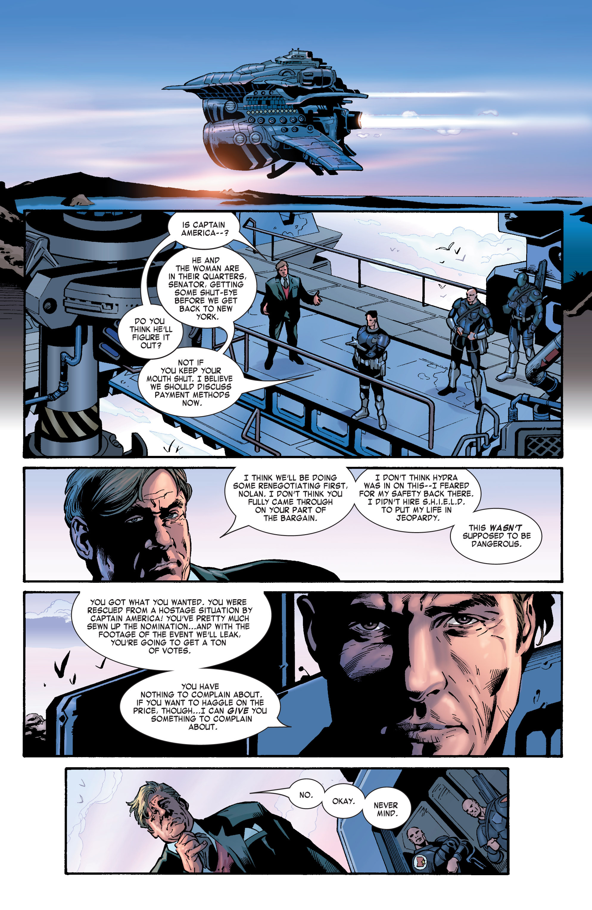 Captain America (2002) Issue #29 #30 - English 20