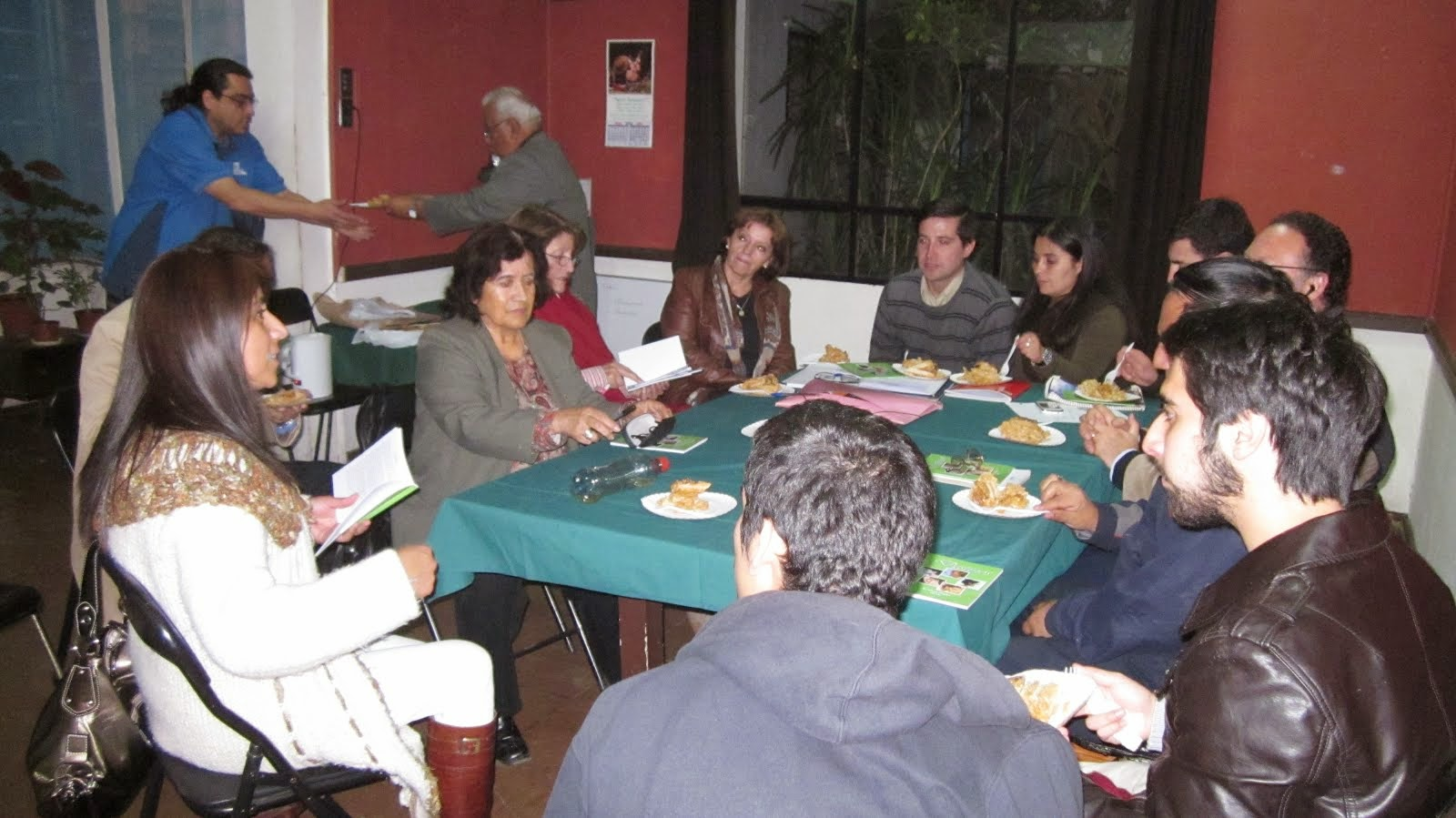 Segunda presentación de Destinos. Grupo Literario Ñuble (10 abril 2013)