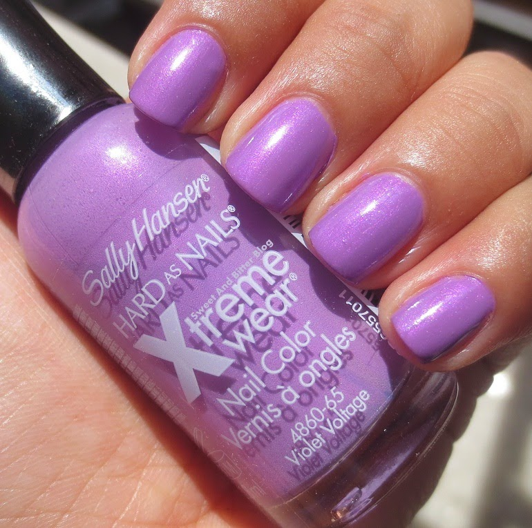 Sally Hansen violet voltage swatch india