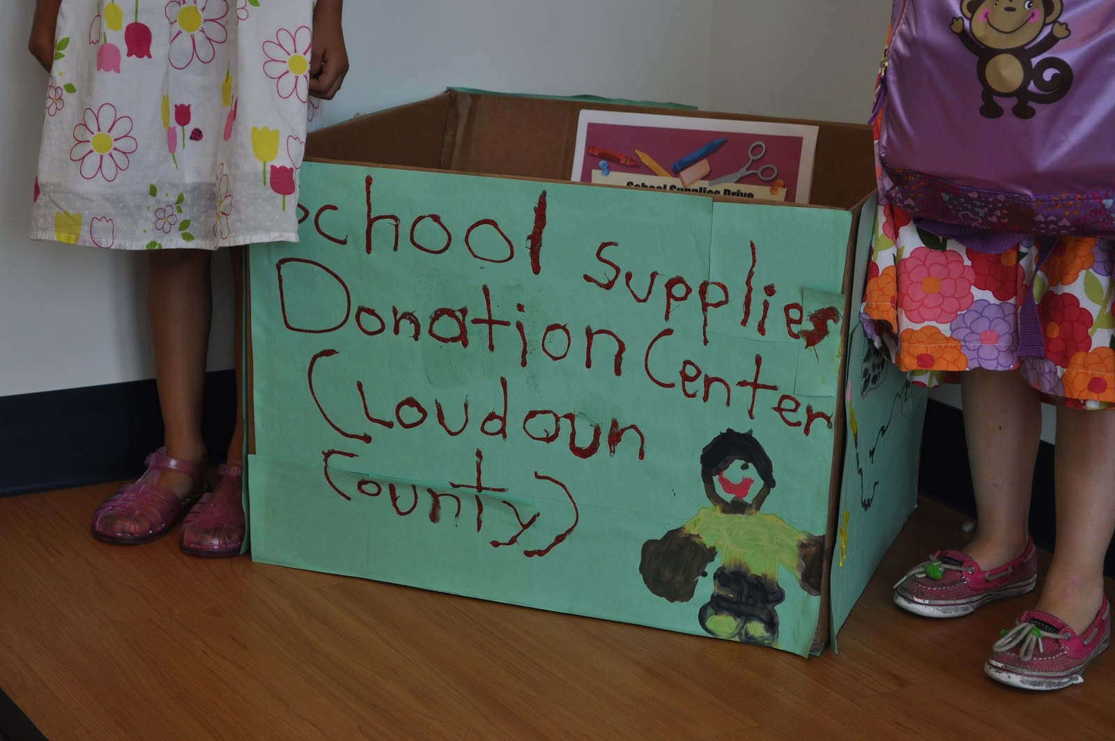 Teaching the art of giving bagitforward my suburban for Where to donate craft supplies