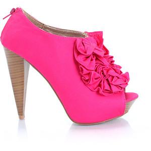 Baby pink heels sandals - photo#21