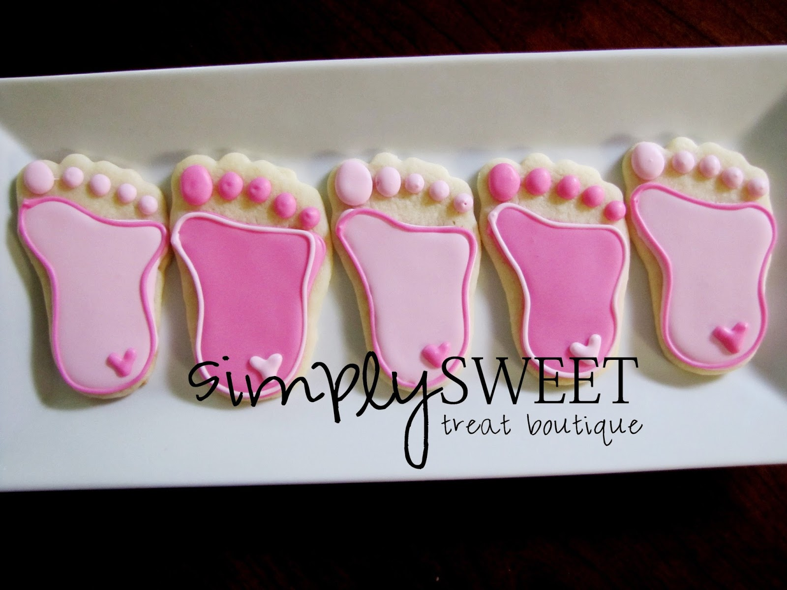 Baby Shower Decorated Cookies