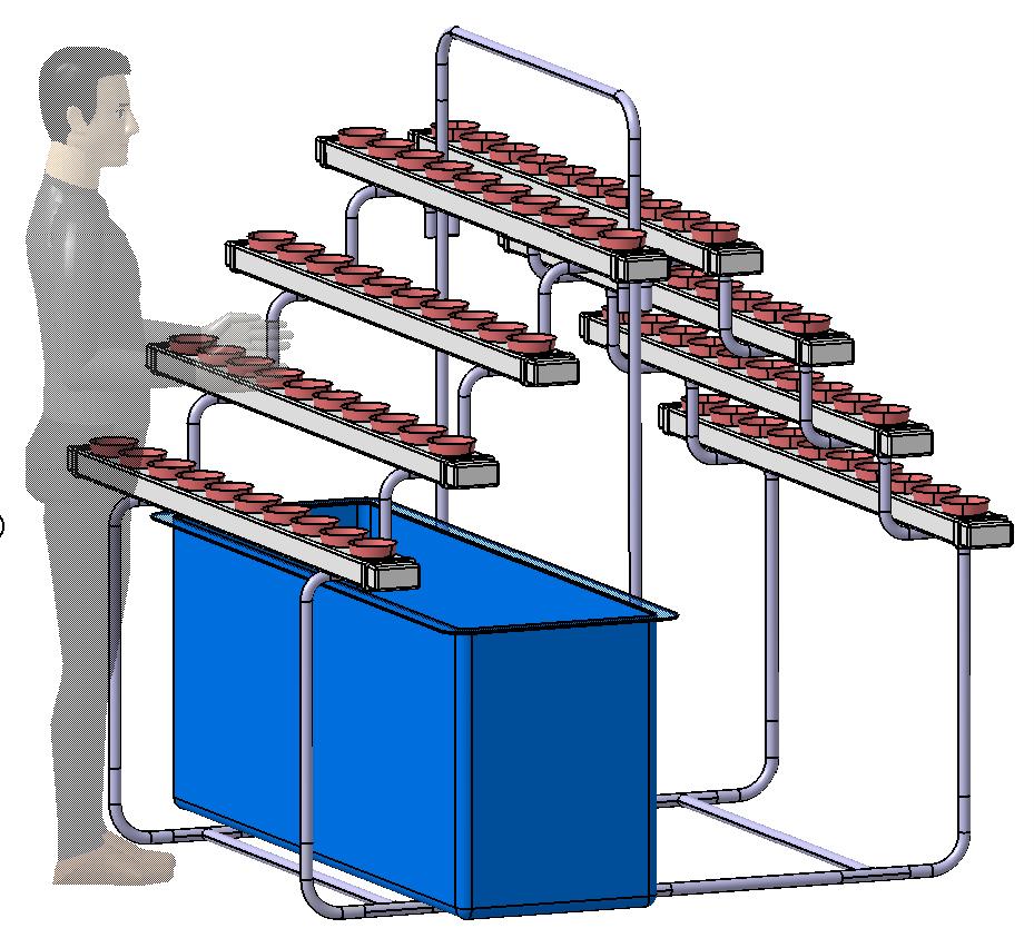 Today aqua guide aquaponics supplies malaysia for Aquaponics fish tank kit