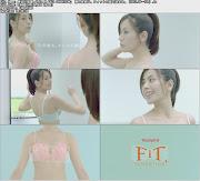 長谷川理恵:Triumph「Fit SENSATION」 胸の未来は、フィットの差で決まる。