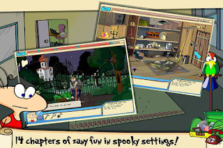 The Jolly Gangs Spooky Adventure games
