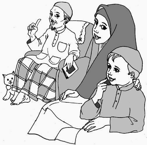 Gambar Komik Dan Kaligrafi Islami - Fauzi Blog