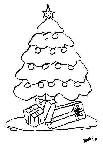 Dibujos para imprimir y colorear navidad para colorear - Dibujos para pintar navidad ...