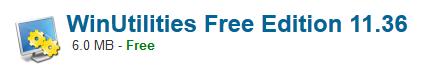 WinUtilities Free Edition 11.36 Free Download
