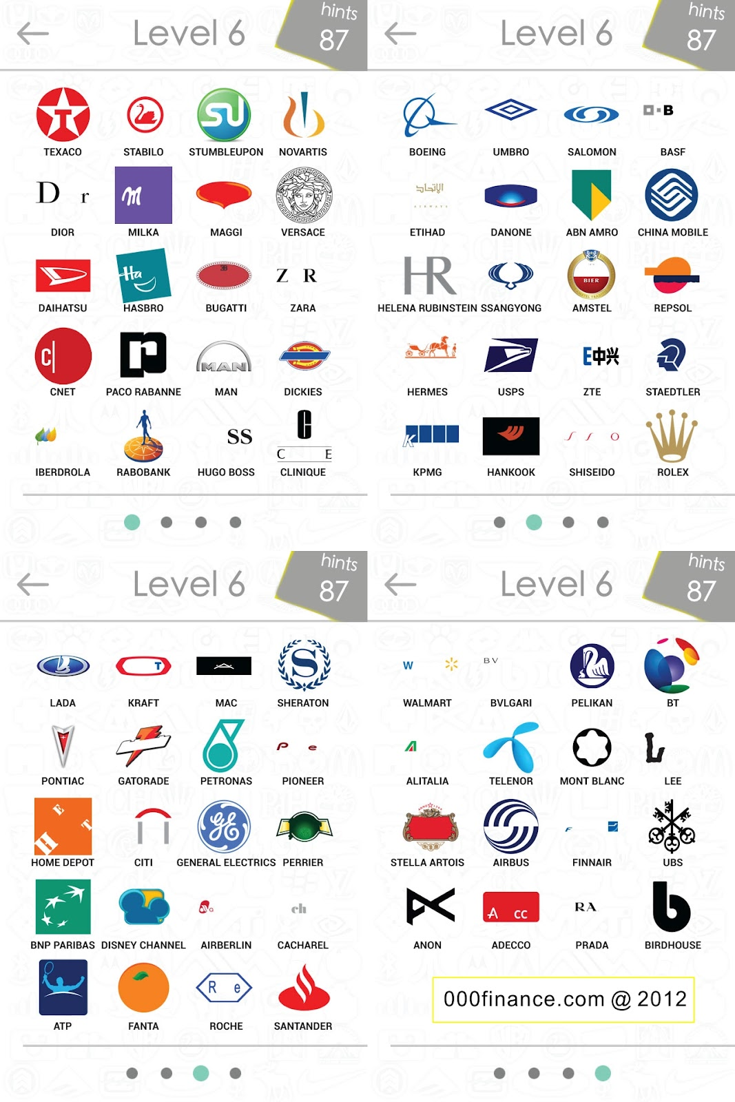 logos quiz answer level 6 logos quiz answers for iphone