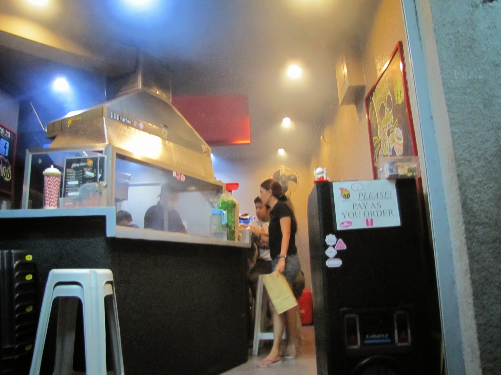 FTW! Blog, Blazing Burger, #eatdrinkManila, #FTWeats, #holeinthewall