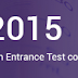 AP EAMCET 2015 Answer Key @ www.apeamcet.org