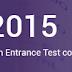 AP EAMCET 2015 Answer Key @ www.apeamcet.org