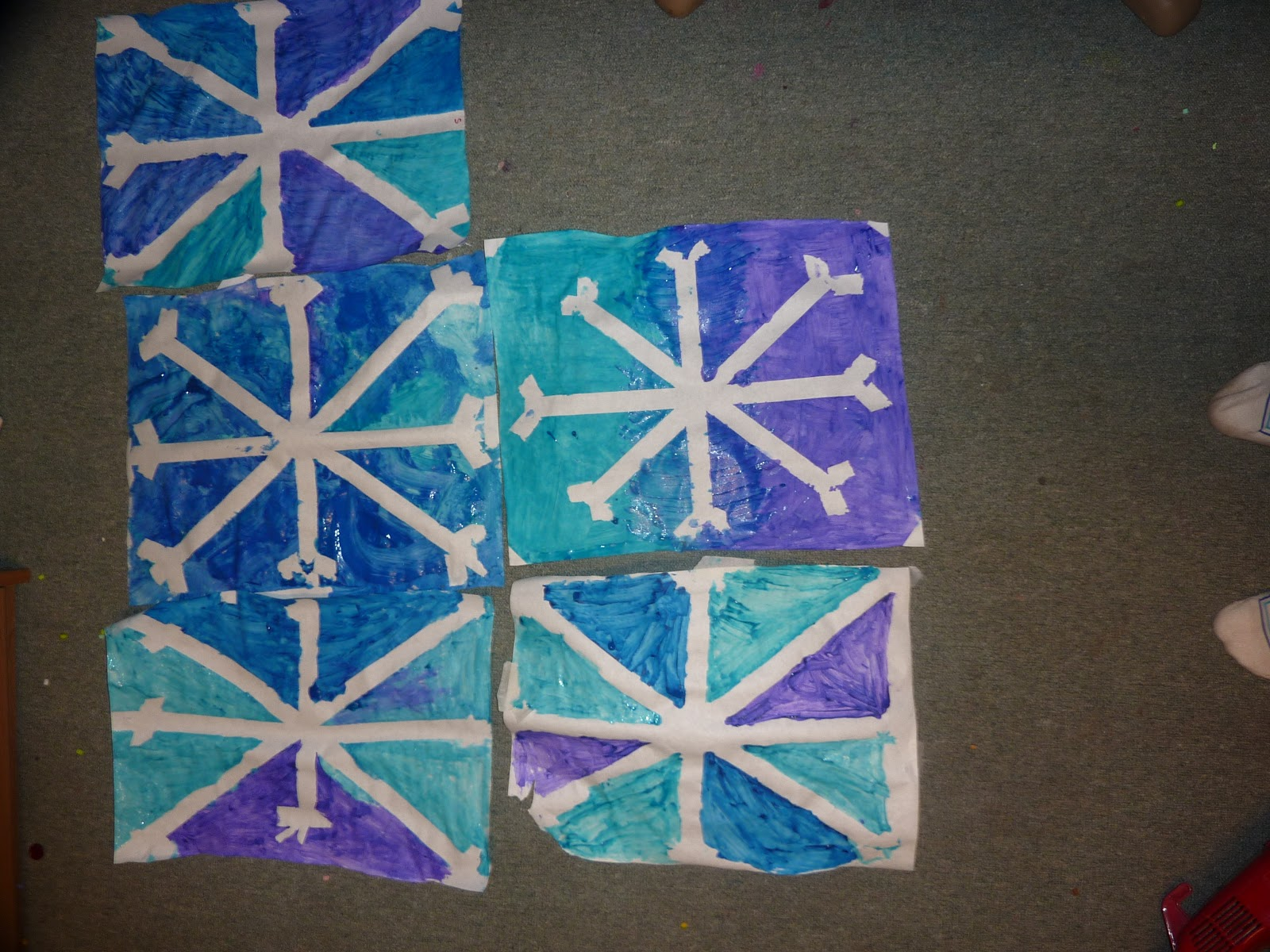 Snowflake Arts And Crafts Ideas