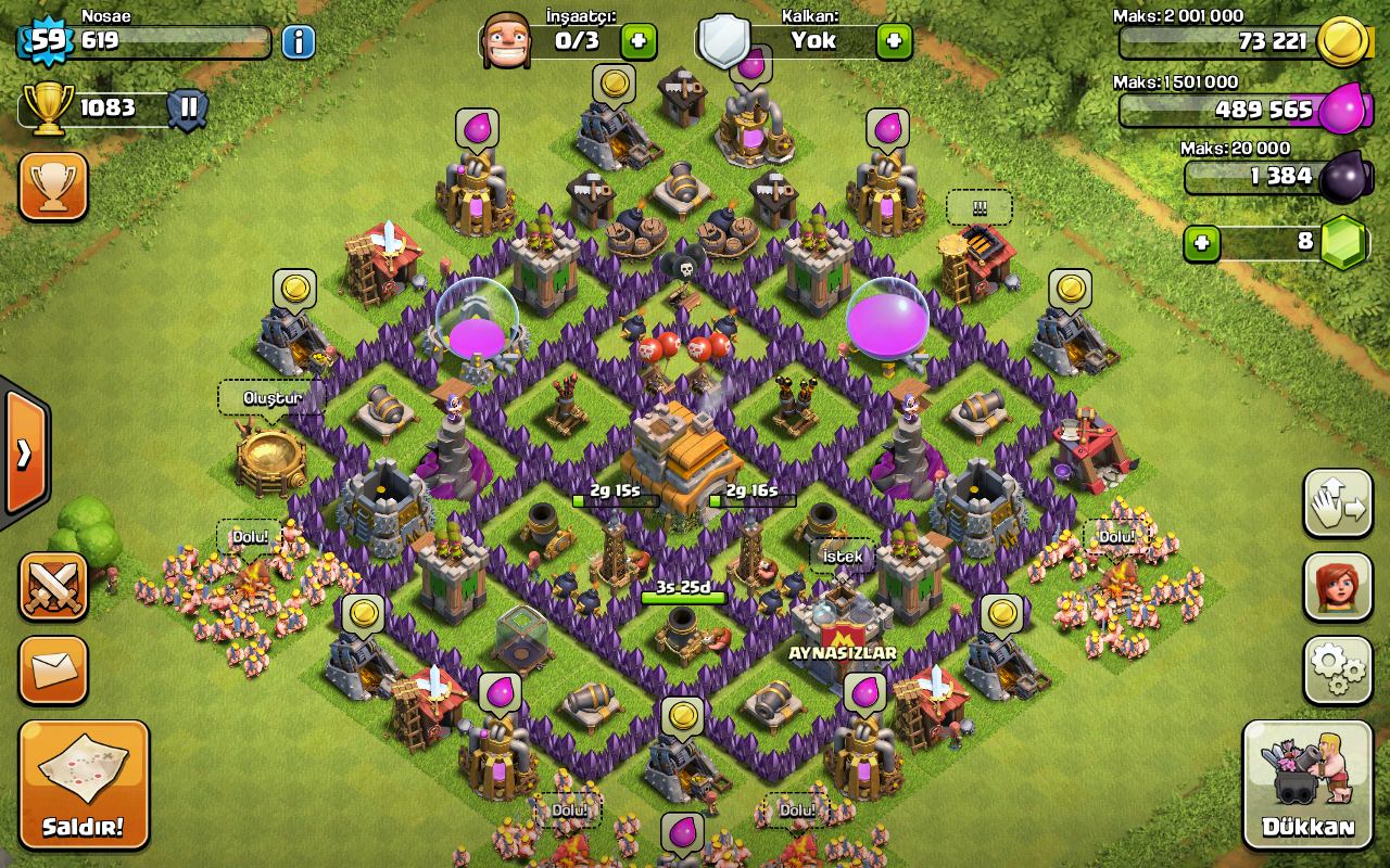 Wall Design For Town Hall 6 : Clash of clans wiki dise?os ayuntamiento lvl