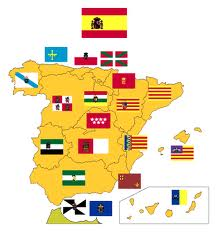 MAPA de Autonomías de ESPAÑA