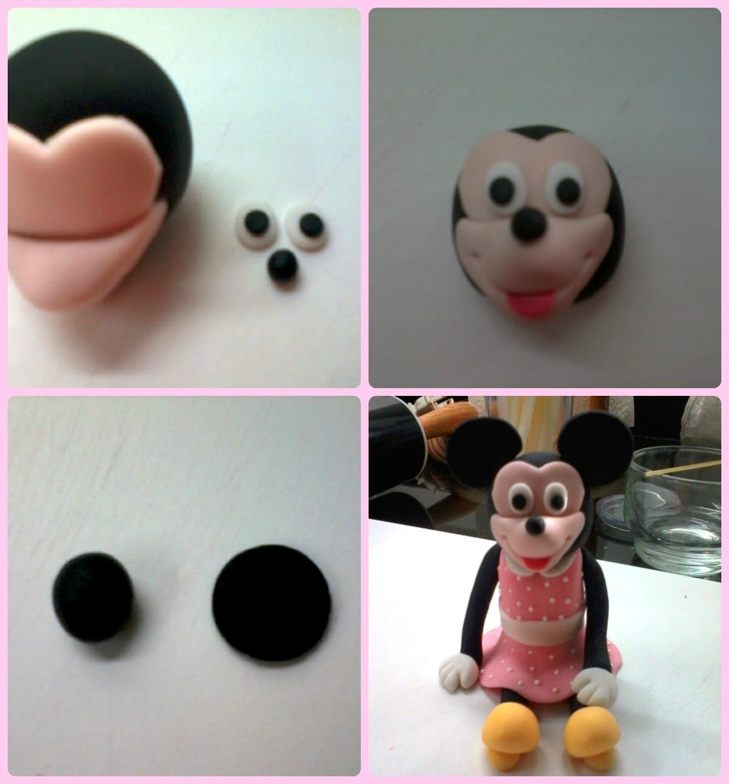 How To Make A Minnie Mouse Cake Without Fondant