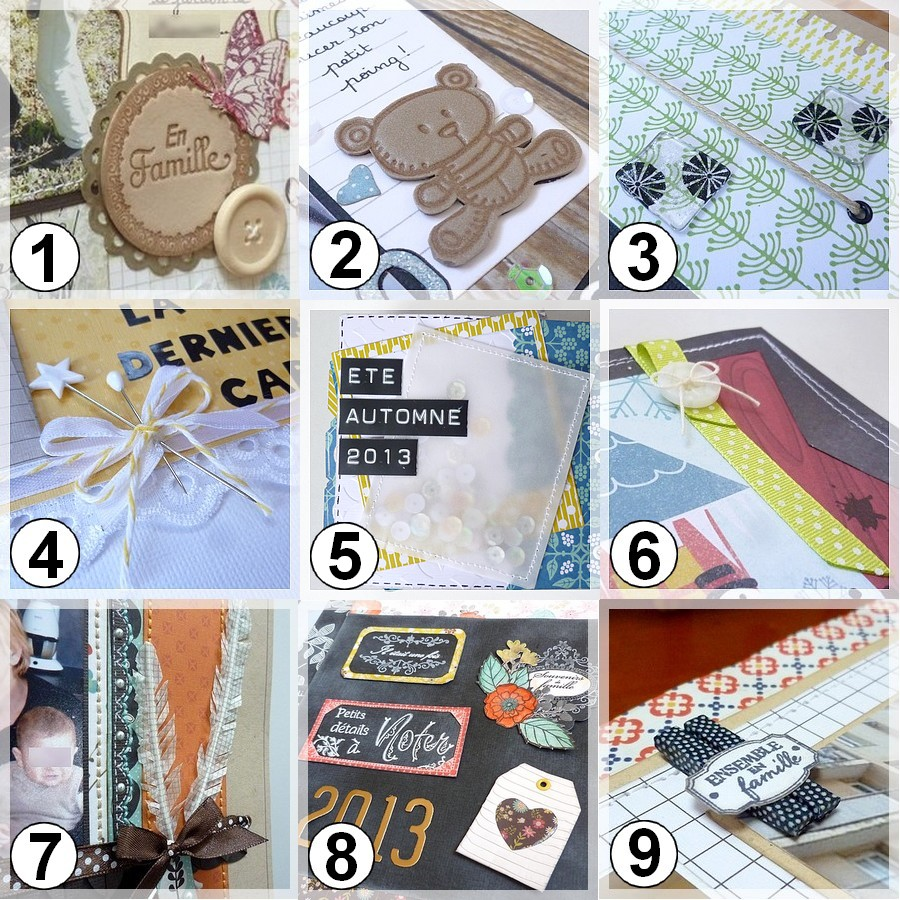 How to make scrapbook embellishments