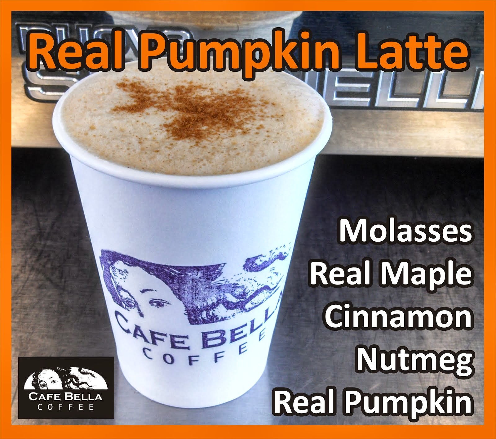 Real Pumpkin Latte!