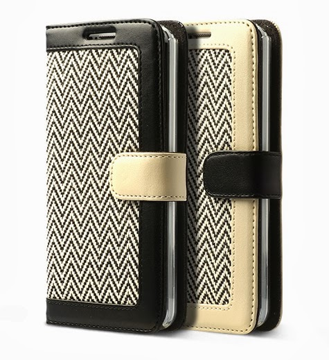 Herringbone Diary Case Samsung Galaxy Note 3 Leather Diary Cases