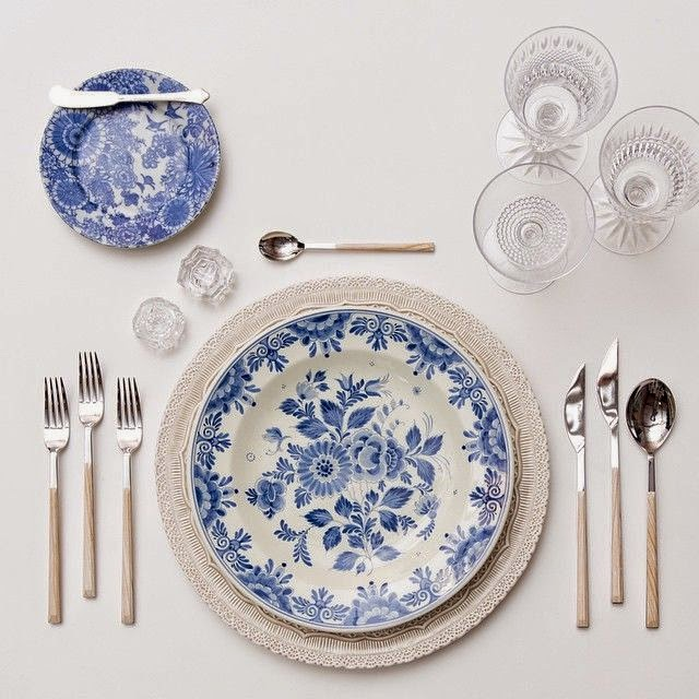 Decoraci n la mesa perfecta c mo combinar vajillas for Vajilla de platos