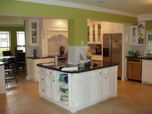 Cabinets for kitchen kitchen colors with white cabinets for Kitchen designs with white cabinets