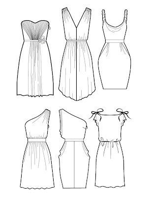 Black and White Bridesmaid Dress. - Affordable Bridal Gowns
