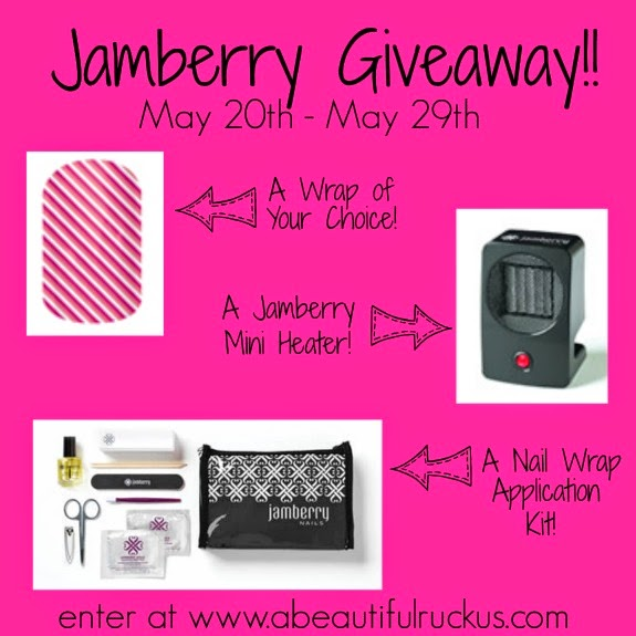 A Beautiful Ruckus: Pamper Yourself: A Jamberry Giveaway!