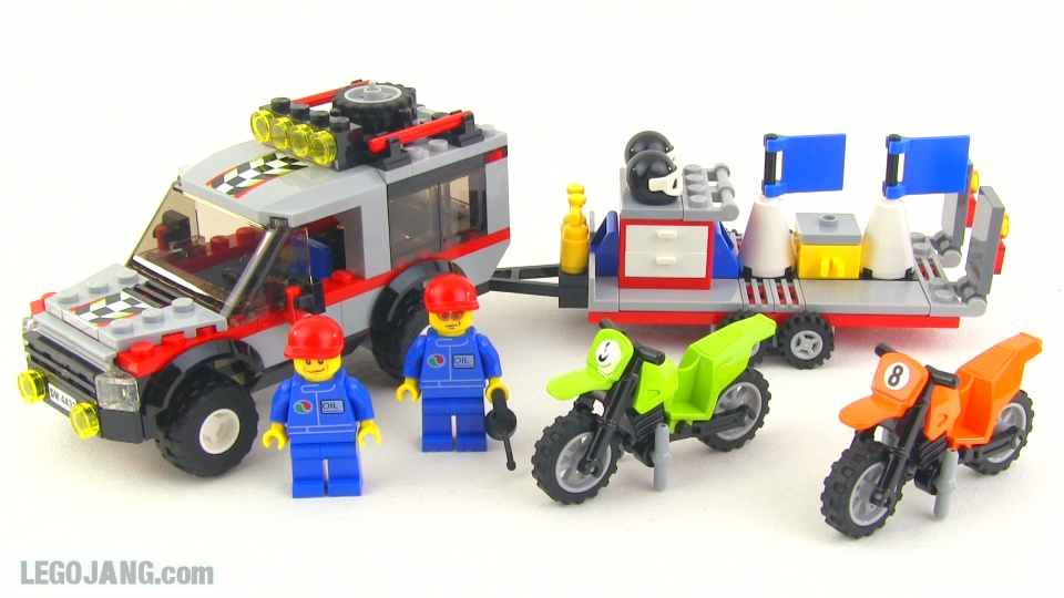 lego city dirt bike transporter 4433 review. Black Bedroom Furniture Sets. Home Design Ideas