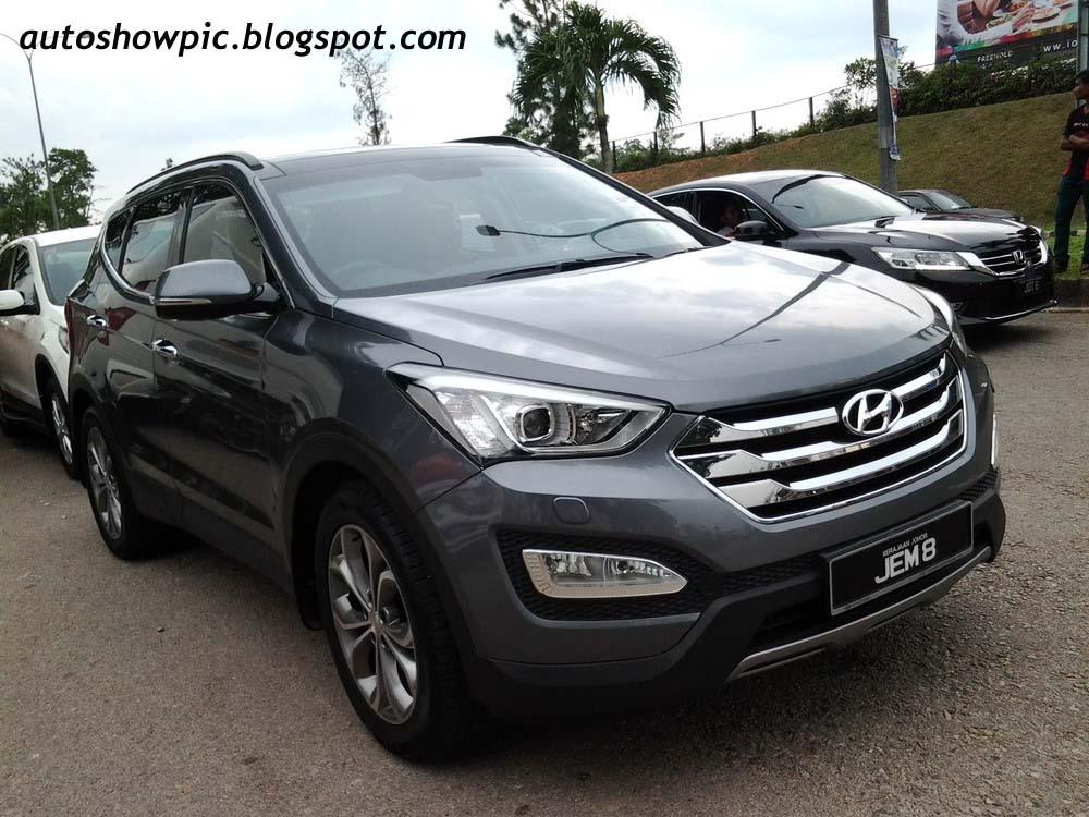 Hyundai Santa FE Kerajaan Johor JEM8