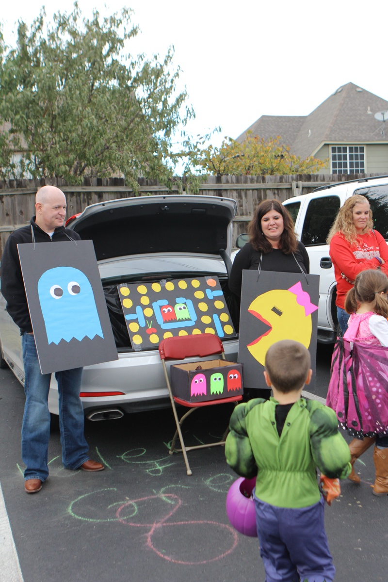 Trunk or Treat Idea Pac Man