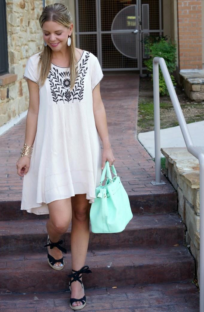 Summer Smock Dress