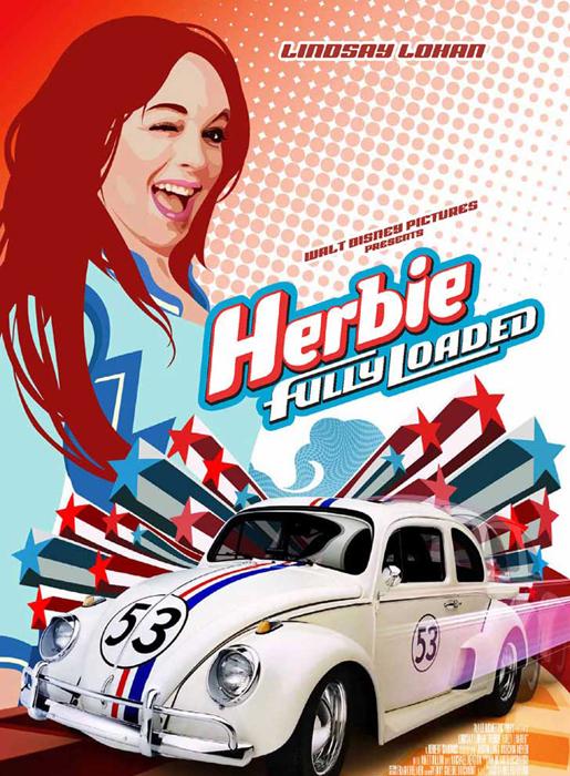 Linday Lohan Herbie a toda marcha | Ximinia