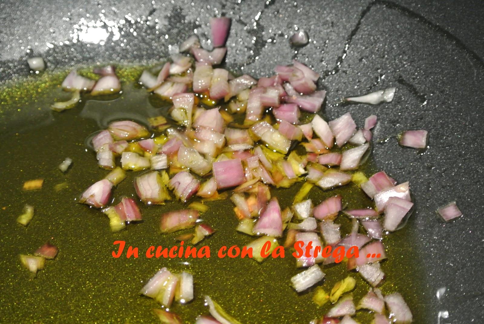 In cucina con la Strega ...: Risotto con gamberi, zucchine e limone