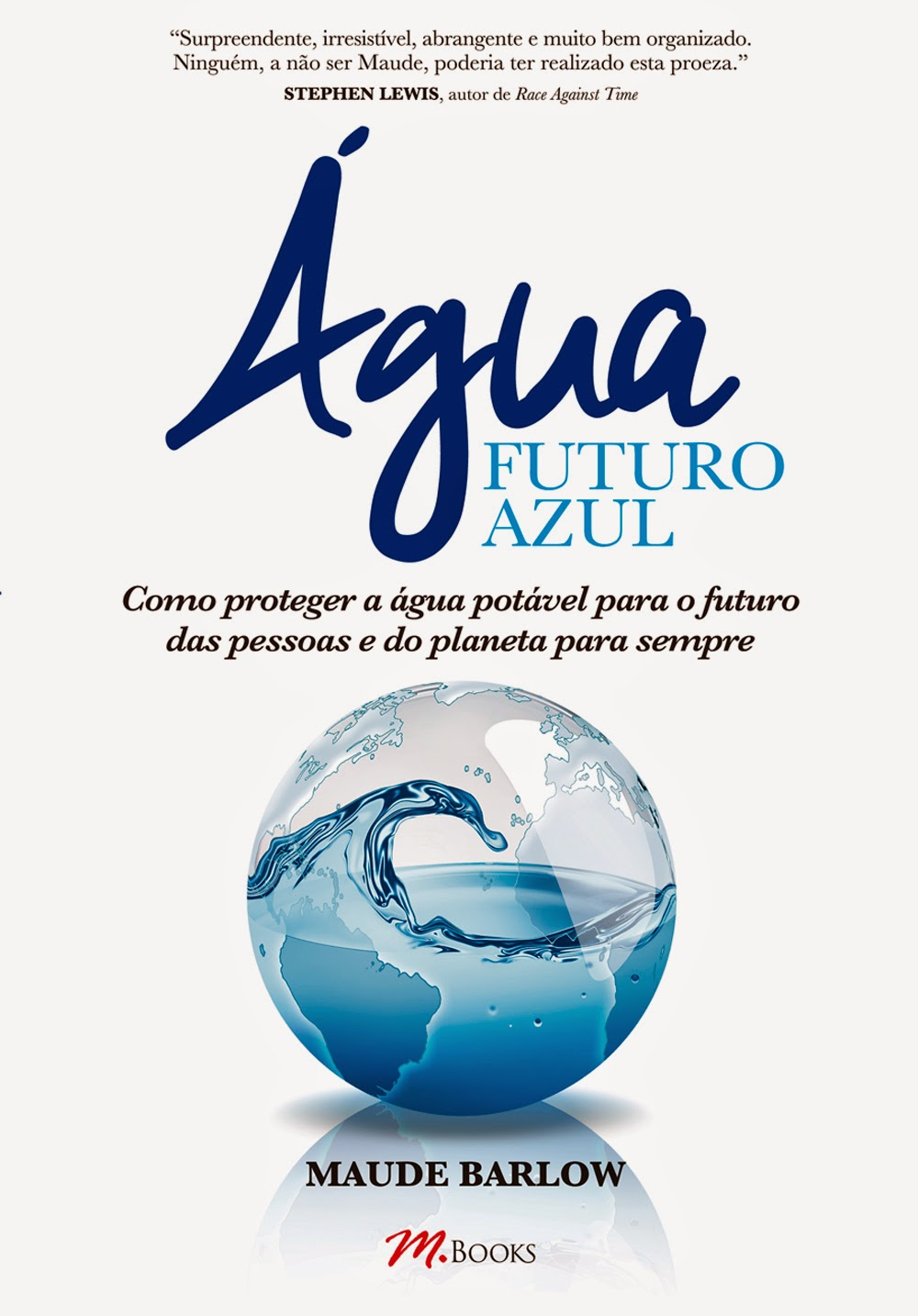 Capa do livro Água - Futuro Azul