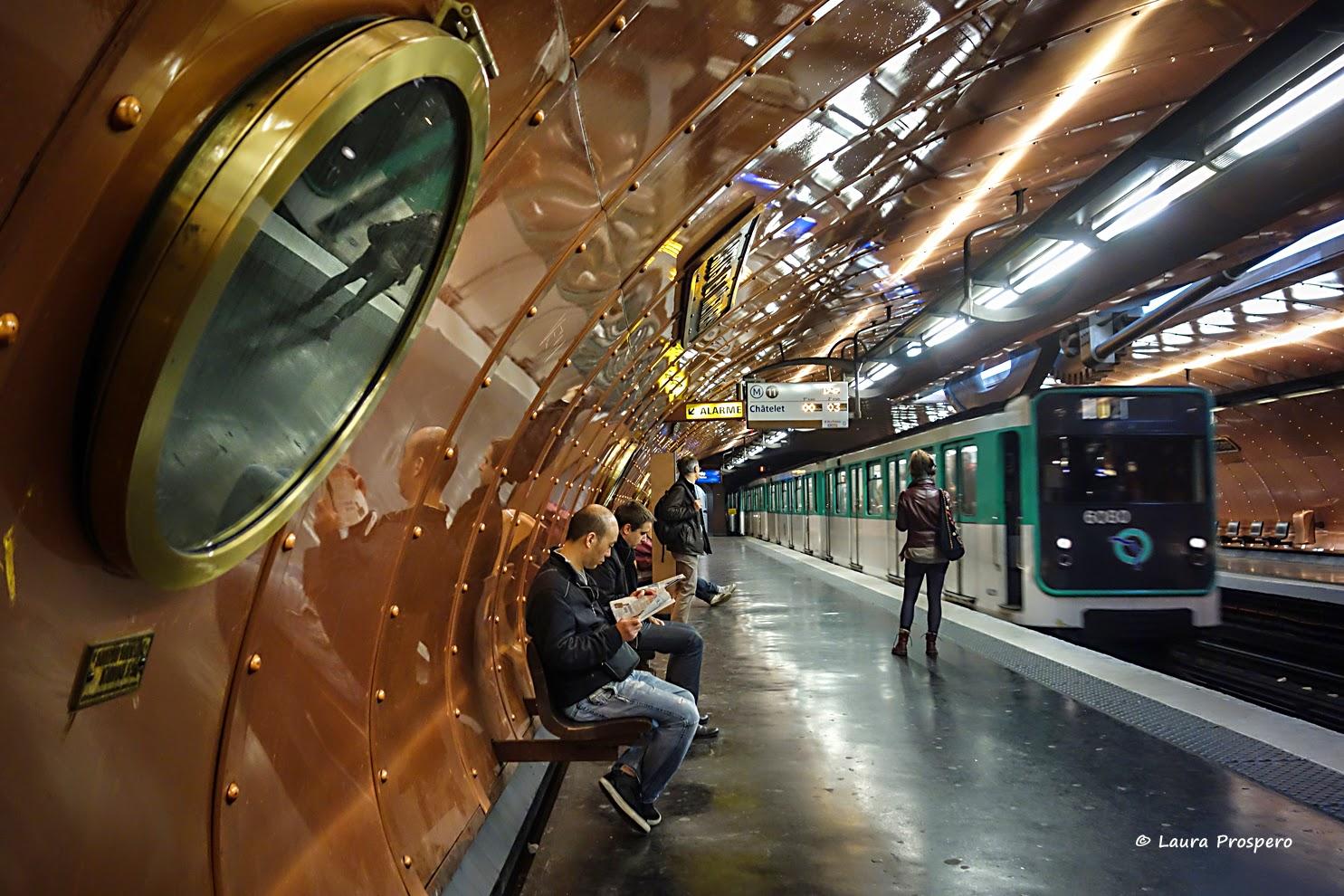 station arts et métiers/ligne 11 © Laura Prospero