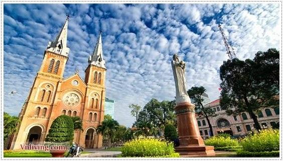 Duc ba Church ( Saigon Notre - Dame Basilica )