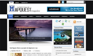 Mapquest WordPress Theme