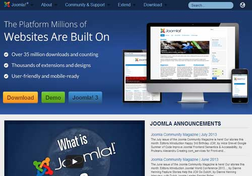 Joomla ~ 43 Useful and Time Saving Web Development Kits and Frameworks